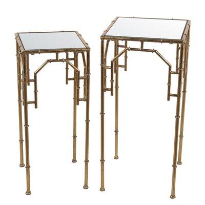 Damariscotta 2 Piece Nesting Plant Stand Set