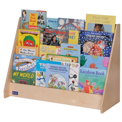 """Steffy Wood Products Four-Shelf 24"""" Book Display"""