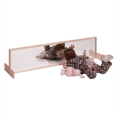 """Steffy Wood Products 12"""" H x 48"""" W Two Position Mirror"""