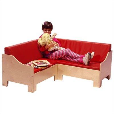 Steffy Wood Products Corner Kids Sofa
