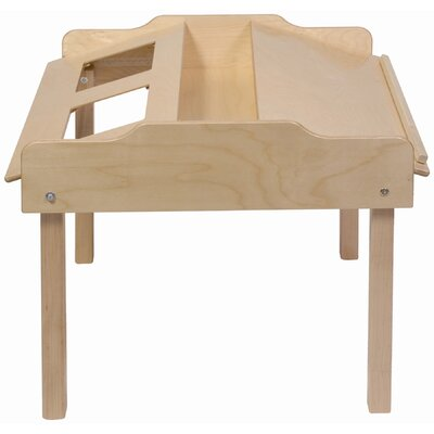 "Steffy Wood Products 35"" x 32"" Novelty Activity Table"