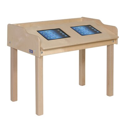 """Steffy Wood Products 35"""" x 21"""" Novelty Activity Table"""