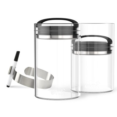 Evak Compact 24 Oz. Food Storage Container Color: Gloss Black