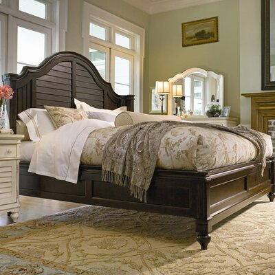 Paula deen home steel magnolia panel bed reviews wayfair - Steel magnolia bedroom furniture ...