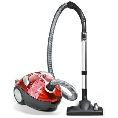 Tattoo Crimson Bouquet Canister Vacuum