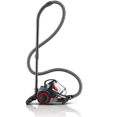 Dash Multi Carpet and Hard Floor Cyclonic Canister Vacuum