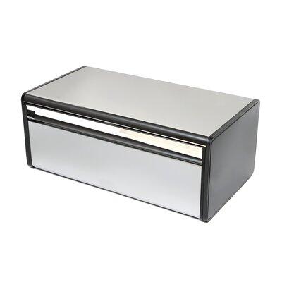 Fall Front Bread Box Finish: Brilliant Steel