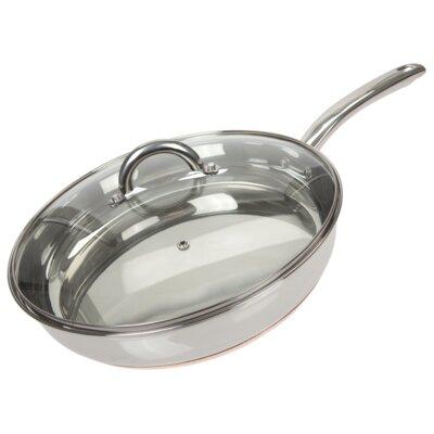 Ethos Roykka Bistro & Co Copper Tri-Ply Frying Pan