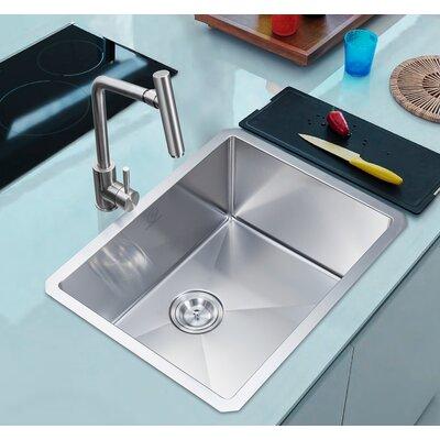 """Nationalwares 23"""" x 18"""" Undermount Kitchen Sink"""