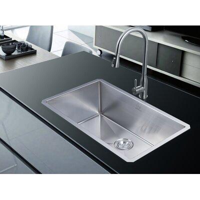 """Nationalwares 30"""" x 18"""" Undermount Kitchen Sink"""