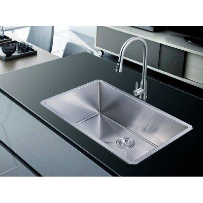"""Nationalwares 32"""" x 19"""" Undermount Kitchen Sink"""