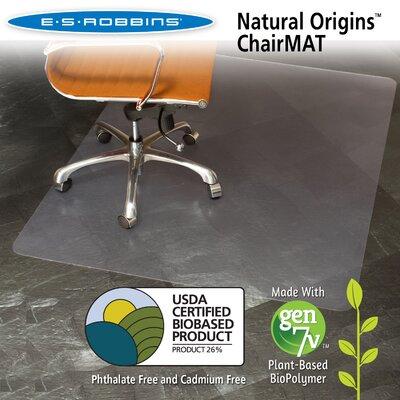 Natural Origins Hard Floor Straight Edge Chair Mat