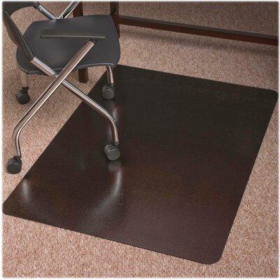 """Trendsetter Medium Pile Carpet Straight Edge Chair Mat Size: 48"""" W x 36"""" D"""