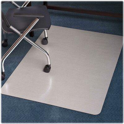"""Trendsetter Medium Pile Carpet Straight Edge Chair Mat Size: 36"""" W x 48"""" D"""