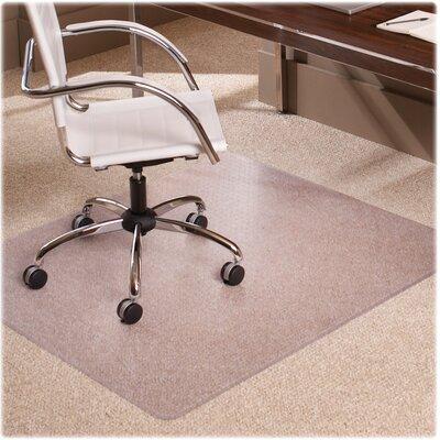 AnchorBar Low Pile Carpet Beveled Edge Chair Mat