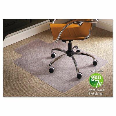 "Natural Origins Carpet Chair Mat Size: 53"" H x 45"" W"