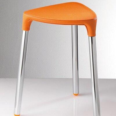 Yannis Stool Color: Orange