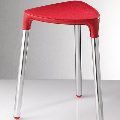 Yannis Stool Color: Red