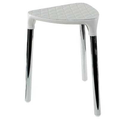 Yannis Accent Stool Color: White