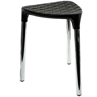 Yannis Accent Stool Color: Black