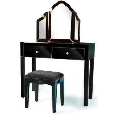 Alterton Furniture Dressing Table Set with Mirror