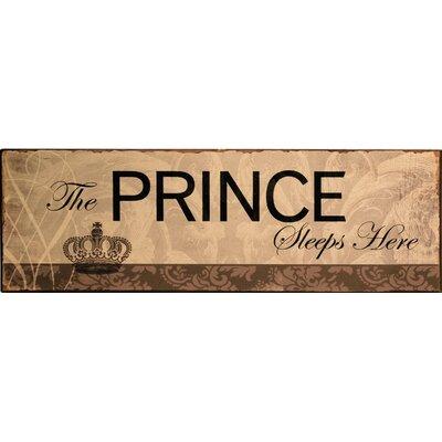 Alterton Furniture Prince Wall Art Plaque