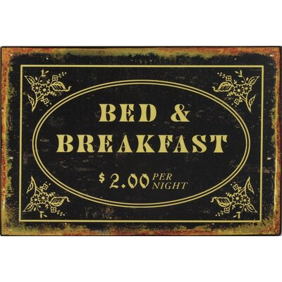 Alterton Furniture Bed and Breakfast Wall Art Plaque