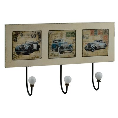 Alterton Furniture Vintage Cars Wall Mounted Coat Rack