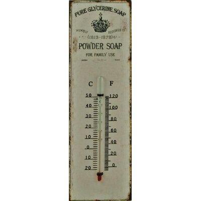 Alterton Furniture Powder Soap Wall Thermometer