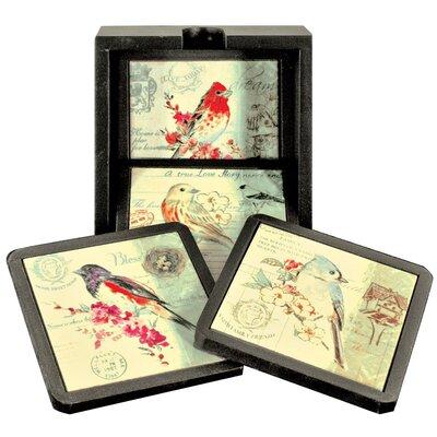 Alterton Furniture Birds Coaster Set