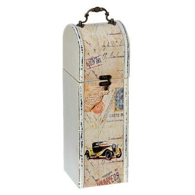 Alterton Furniture Vintage Cars 1 Bottle Wine Box