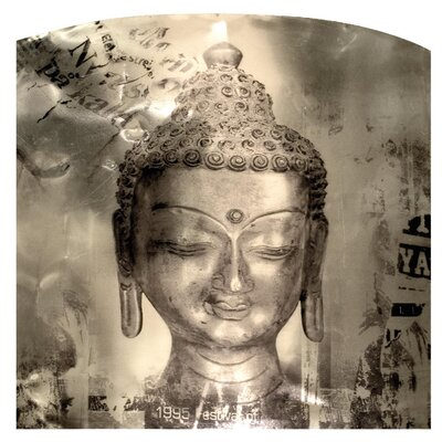 Alterton Furniture Buddha Head Wall Plaque