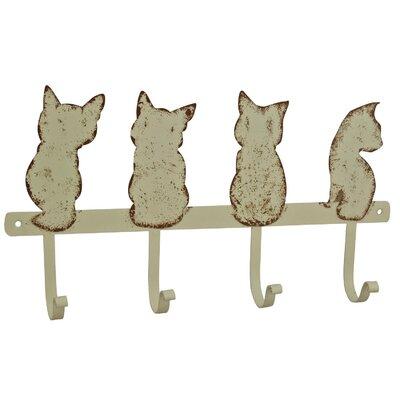 Alterton Furniture Cat Quartet Wall Mounted Wardrobe Hook