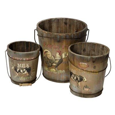 Alterton Furniture 3-Piece Farm Bucket Set