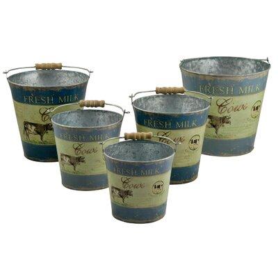 Alterton Furniture 5-Piece Fresh Milk Bucket Set