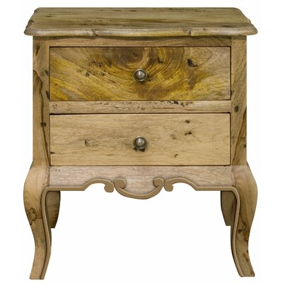 Alterton Furniture Chantilly 2 Drawer Bedside Table