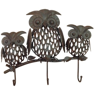 Alterton Furniture 3 Wise Owls Wall Hook Rack