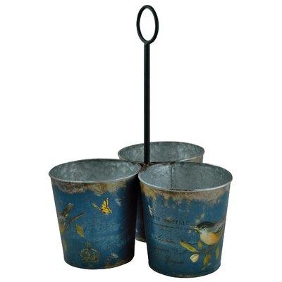 Alterton Furniture Carte Postale 3-Piece Round Pot Planter Set