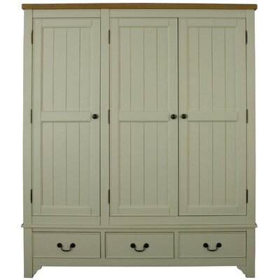 Alterton Furniture Oakleigh 3 Door Wardrobe