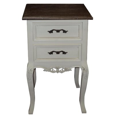 Alterton Furniture Chateau 2 Drawer Bedside Table