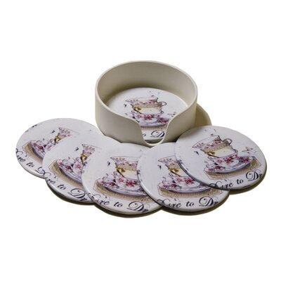 Alterton Furniture Tea Cup 7-Piece Coaster Set