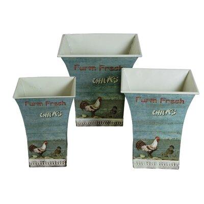 Alterton Furniture Farm Chick 3-Piece Storage Tin Set