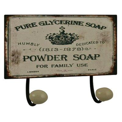 Alterton Furniture Power Soap Wall Mounted Coat Rack
