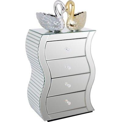 Alterton Furniture 4 Drawer Bedside Table