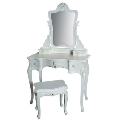 Alterton Furniture Rose Dressing Table Set with Mirror