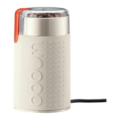 Bistro Electric Blade Coffee Grinder Finish: Off White
