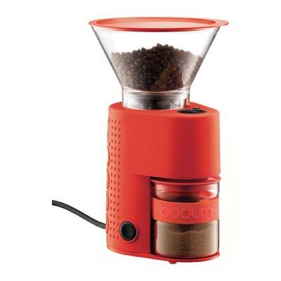 Bistro Electric Burr Coffee Grinder Color: Red