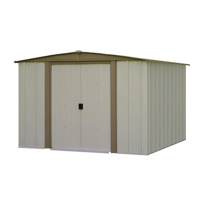 Bedford 7 ft. 11 in. W x 7 ft. 6 in. D Metal Storage Shed