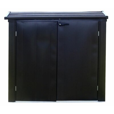 Versa Shed Locking 5 ft. W x 3 ft. D Metal Horizontal Garbage Shed