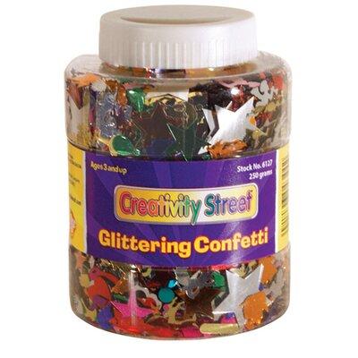 Chenille Kraft Company Shaker Jar Glittering Confetti